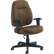 Global Custom High-Back Task Chair, Premium Grade, Barley