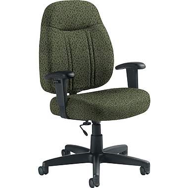 Global Custom High-Back Task Chair, Premium Grade, Jade