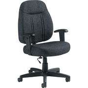 Global Custom High-Back Task Chair, Premium Grade, Graphite
