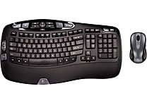 Logitech MK550 Wireless Desktop Wave Keyboard and Mouse Combo