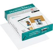 "Hammermill® Laser Print Paper, 8 1/2"" x 11"", 3-Hole Punched, Ream"