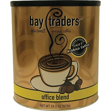Bay Traders™ Office Blend Ground Coffee, Regular, 34.5 oz. Can
