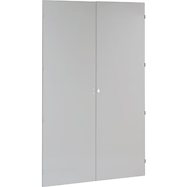 Tennsco 78in. High Jumbo Storage Cabinet, Light Gray, 78in.H x 48in.W x 24in.D