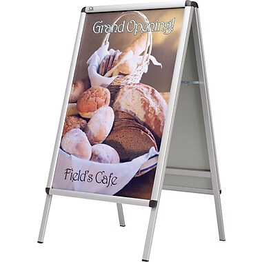 Quartet® A-Frame Poster Indoor/Outdoor Sign Holder