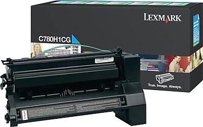 Lexmark Cyan Toner Cartridge C780H1CG High Yield Return Program