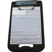 Saunders DeskMate II Storage Clipboard with Calculator