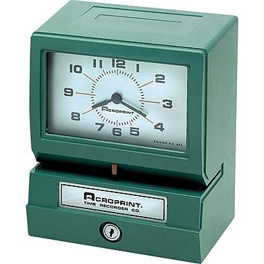 Acroprint® – Horodateur électrique, Mois/Date/Heure/Minute