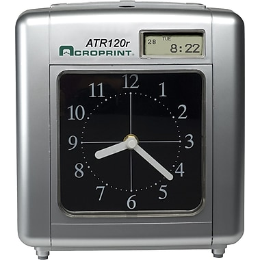Acroprint® – Horodateur ATR120r, grand cadran