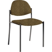 Global Custom Comet Stacking Reception Chair without Arms, Barley, Premium Grade