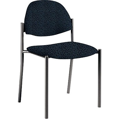 Global Custom Comet Stacking Reception Chair without Arms, Sapphire, Premium Grade