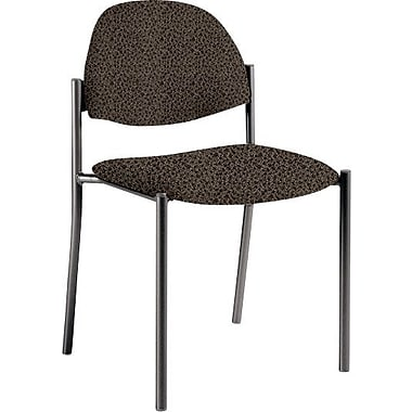 Global Custom Comet Stacking Reception Chair without Arms, Stone, Premium