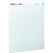 "Post-it® Self Stick Easel Pad, White with Grid Lines, 25"" x 30"""