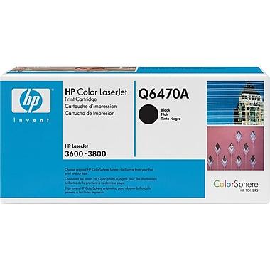 HP - Cartouche de toner 501A (Q6470A), noir