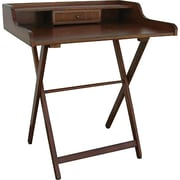 Carolina Cottage Easton Folding Writing Desk, Chestnut Finish