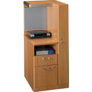 """Bush® Quantum™ Collection 24"""" Right Storage Tower, Modern Cherry"""
