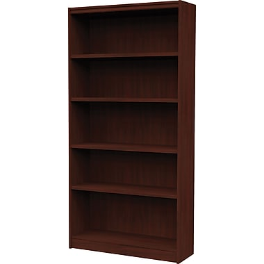 Star Commercial Quality Bookcase 72 Cayenne Cherry