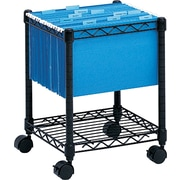 Safco® Compact Mobile File Cart