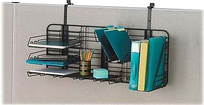 Safco Gridworks Cubicle Organizer, Charcoal, Each (4100CH) 782680