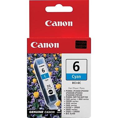 Canon® – Réservoir d'encre BCI-6C, cyan (4706A003)