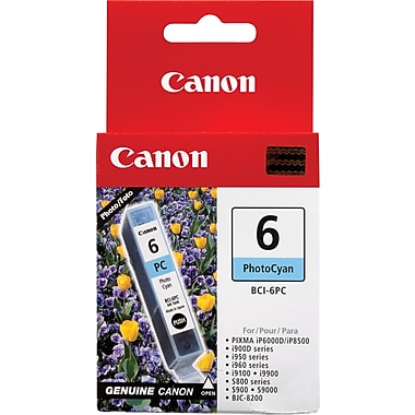 Canon® BCI-6PC Photo Cyan Ink Tank (4709A003)