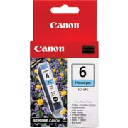 Canon® – Réservoir d'encre BCI-6PC photo, cyan (4709A003)