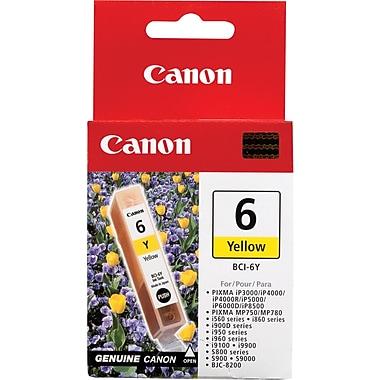 Canon® – Réservoir d'encre jaune BCI-6Y (4708A003)