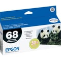 Epson 68 Black Ink Cartridges (T068120-D1/D2), High Yield, 2/Pack