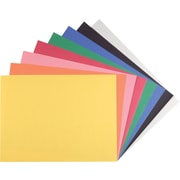 Staples Construction Paper, 9in. x 12in., Assorted Colors, 200 Sheets