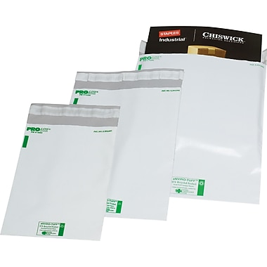 Durable Polyethylene Mailers, 14in. x 17in., 500 Mailers/Case