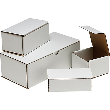 Crush-Proof Mailing Boxes, 13 1/2in. x 4 1/2in. x 3 1/2in.