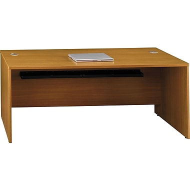 Bush Quantum 72in.W Desk, Modern Cherry