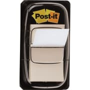 Post-it® 1 White Flags with Pop-Up Dispenser, 2/Pack