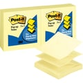 Post-it® 3in. x 3in. Canary Yellow Pop-Up Notes, 12 Pads/Pack