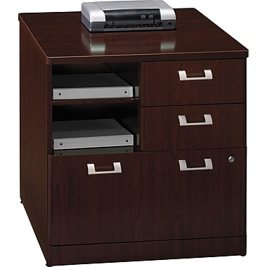 Bush Quantum Series 30in. Storage File, Harvest Cherry