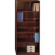 Bush Quantum 30W 5-Shelf Bookcase, Harvest Cherry