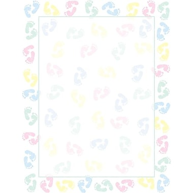 Great Papers® Baby Feet Stationery