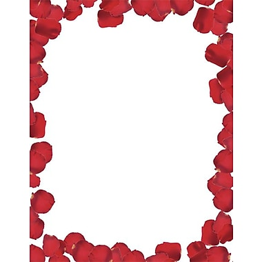 Great Papers® Roses Are Red Letterhead