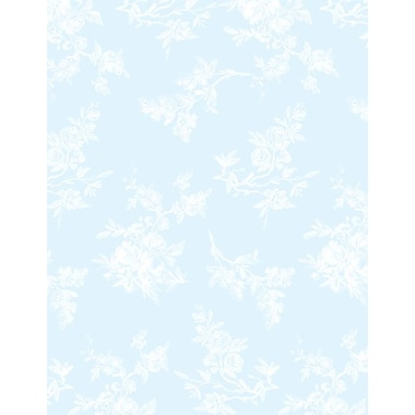 Great Papers® Blue Toile Stationery