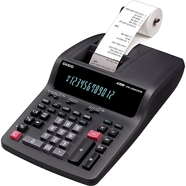 Casio FR-2650TM Printing Calculator