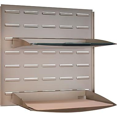 Bush Business Adjustable Paper Tray, Satin Nickel