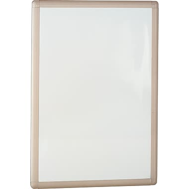 Bush Quantum Metal Marker Board, Satin Nickel