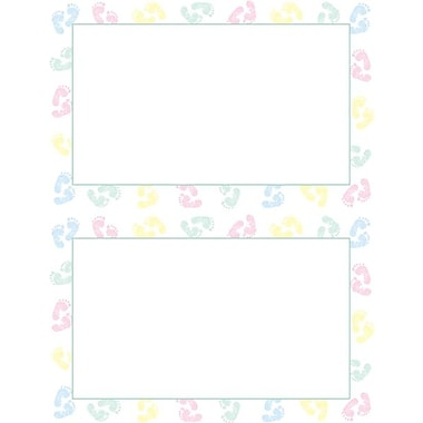 Great Papers® Baby Feet 2-Up Invitations with Envelopes