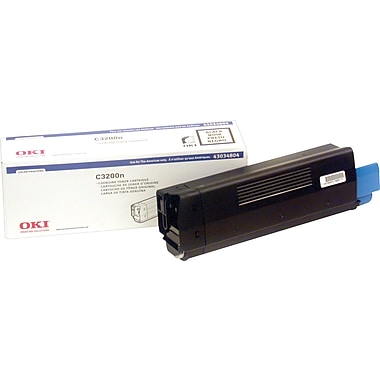 Okidata 43034804 Black Toner Cartridge