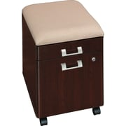 Bush Quantum Mobile Pedestal with Cushion, Harvest Cherry