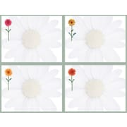 Great Papers® Daisies 4-Up Postcards