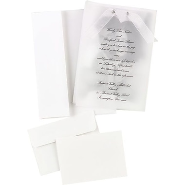 Great Papers® Photo Overlay Wedding Invitation Kit