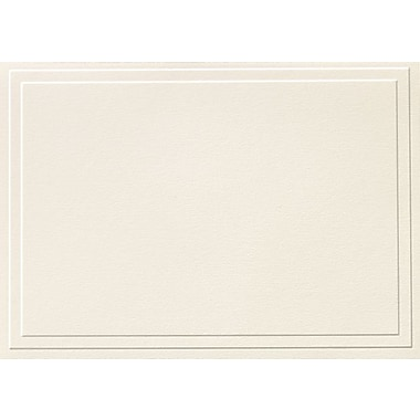 Great Papers® Triple Embossed Ivory Note Cards with Envelopes