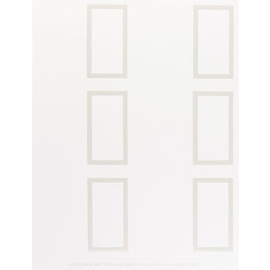 Great Papers® Pearl Border Place Cards, White