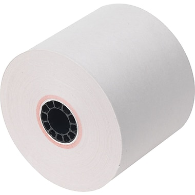 Staples® Adding Machine Roll, 2 1/4in.W x 125'L