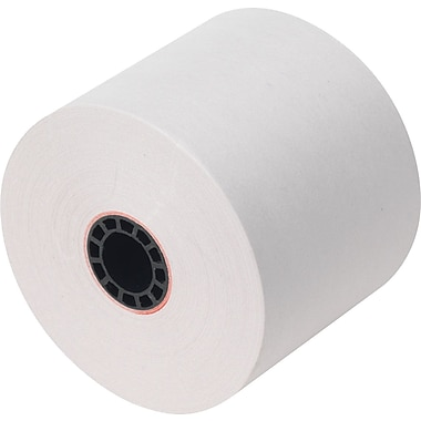 Staples Adding Machine, Register, and Calculator Rolls,  1-Ply, 2 1/4in. x 130'